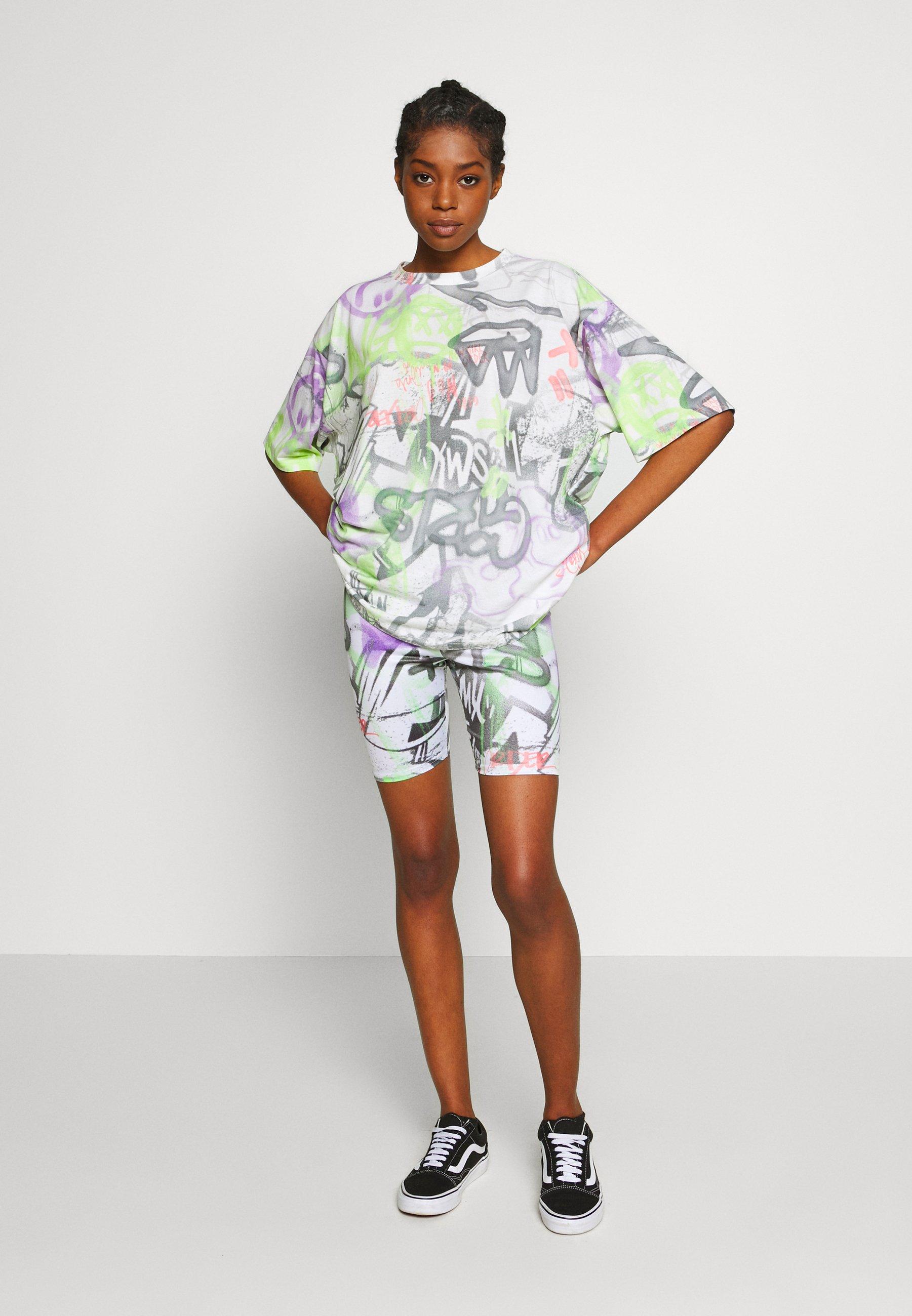 NEW girl ORDER GRAFITTI - T-shirts med print - multi