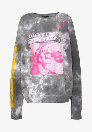 VIRTUE TIE DYE - Sweatshirt - grey