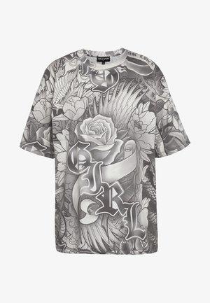 TATTOO TEE - Print T-shirt - grey