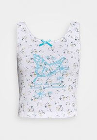 NEW girl ORDER - DITSY BUTTERFLY CAMI - Top - white - 0