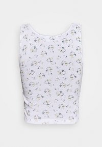 NEW girl ORDER - DITSY BUTTERFLY CAMI - Top - white