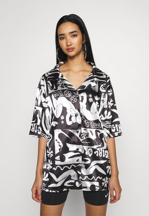 ABSTRACT - Overhemdblouse - black/white