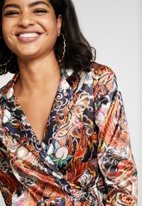 NEW girl ORDER - PHOENIX DRAGON PRINT WRAP - Manteau court - multi - 3