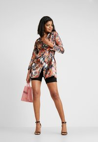NEW girl ORDER - PHOENIX DRAGON PRINT WRAP - Manteau court - multi - 1