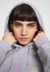 NEW girl ORDER - SKELETON HOODIE - Sweat à capuche - grey - 3