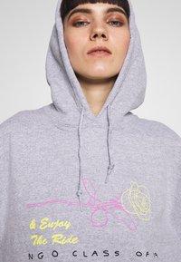 NEW girl ORDER - SKELETON HOODIE - Sweat à capuche - grey - 4
