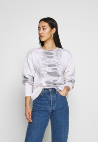 NEW girl ORDER - TIE DYE  - Sweatshirt - grey - 0