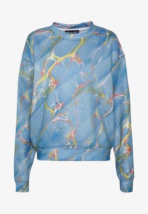 MARBLE - Sweatshirt - blue