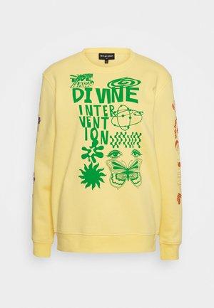 DINVINE INTENTIONS - Sweatshirts - yellow