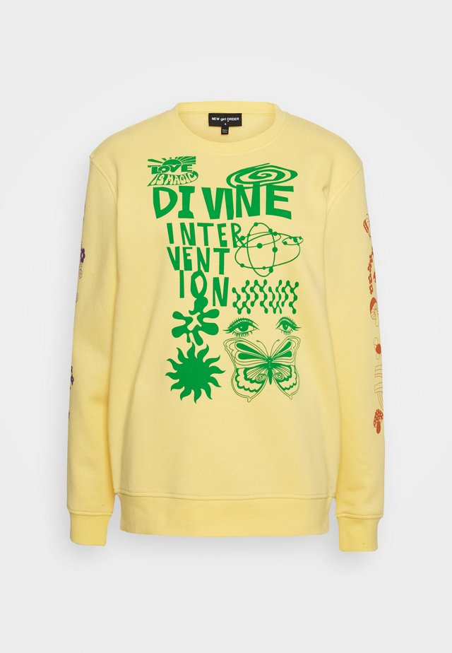DINVINE INTENTIONS - Bluza - yellow