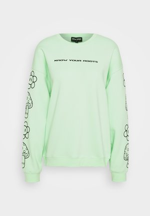 KNOW YOUR ROOTS - Sweatshirts - green