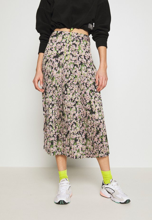 FLORAL BEATRICE SKIRT - A-line skirt - green