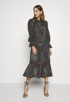 MEADOW PRINT DRESS - Denní šaty - black