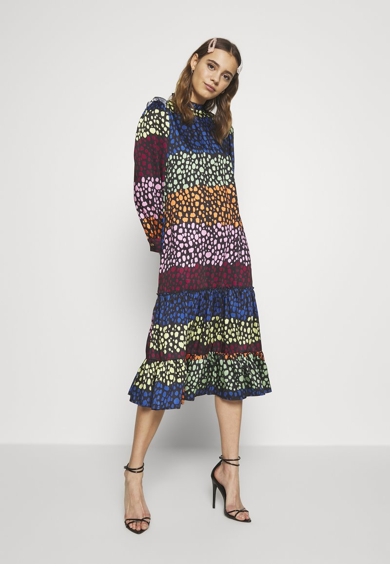 Never Fully Dressed - PRINT MODEST DRESS - Kjole - multi