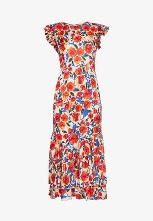 FRIDA FLORAL DRESS - Day dress - orange