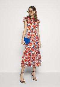 Never Fully Dressed - FRIDA FLORAL DRESS - Day dress - orange - 1