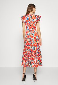Never Fully Dressed - FRIDA FLORAL DRESS - Kjole - orange - 2