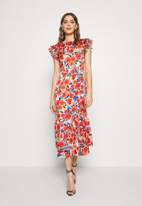 Never Fully Dressed - FRIDA FLORAL DRESS - Kjole - orange - 0