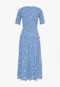 Never Fully Dressed - RUCHED FLORAL DRESS - Freizeitkleid - blue - 1