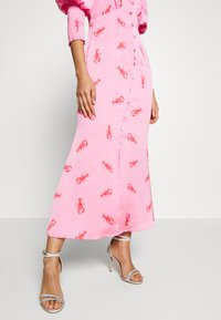 Never Fully Dressed - PINK LOBSTER DRESS - Day dress - pink - 4