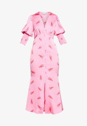 PINK LOBSTER DRESS - Day dress - pink
