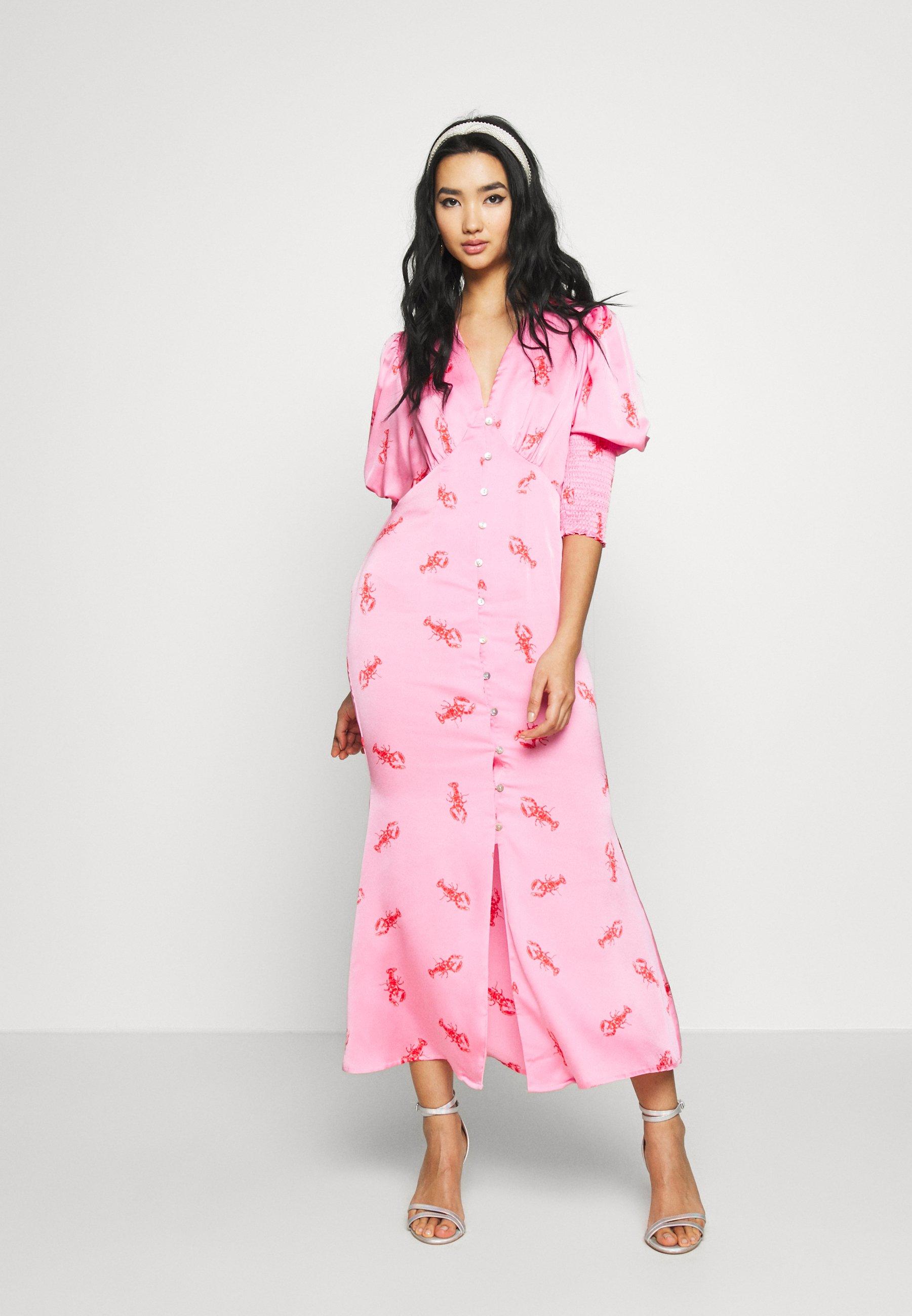Never Fully Dressed Pink Lobster Dress - Hverdagskjoler