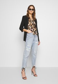 Never Fully Dressed - WRAP TOP - Bluser - leopard - 1