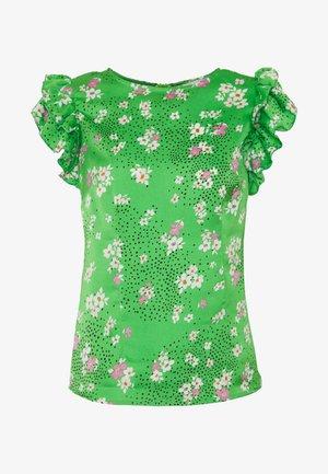 BLOSSOM FRILL - Blouse - green