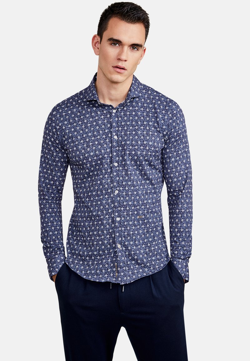 NEW IN TOWN - Shirt - blue