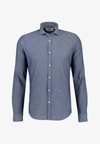 NEW IN TOWN - MIT HAIFISCHKRAGEN - Shirt - blue - 5
