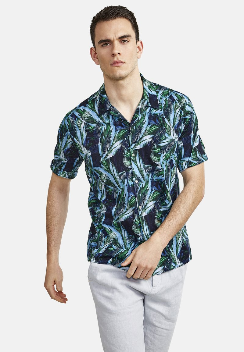NEW IN TOWN - HAWAII - Shirt - night blue