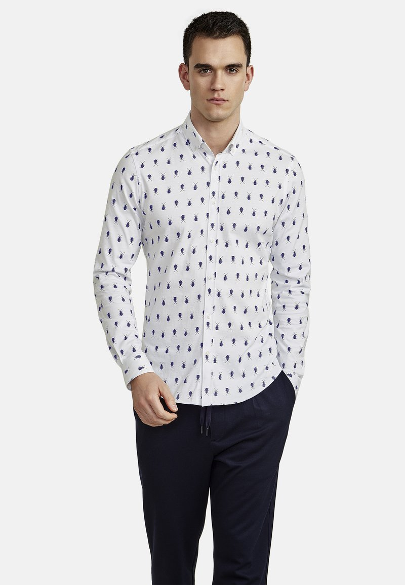 NEW IN TOWN - Shirt - white