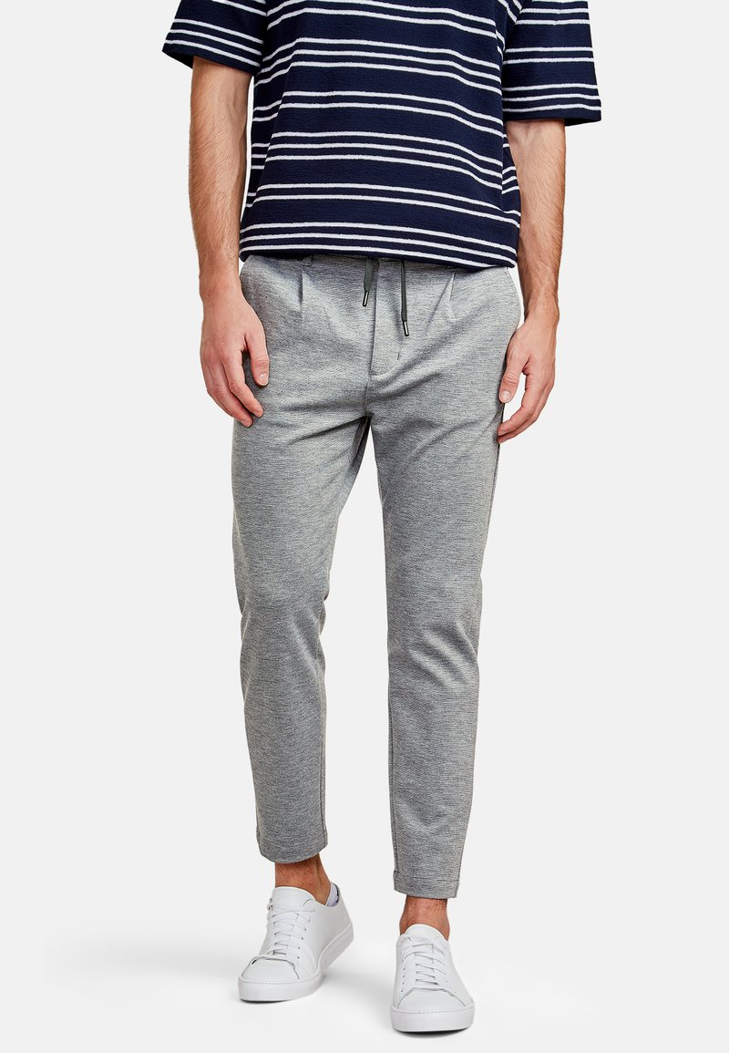 NEW IN TOWN - Trousers - grey