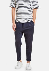 NEW IN TOWN - Trousers - navy - 0