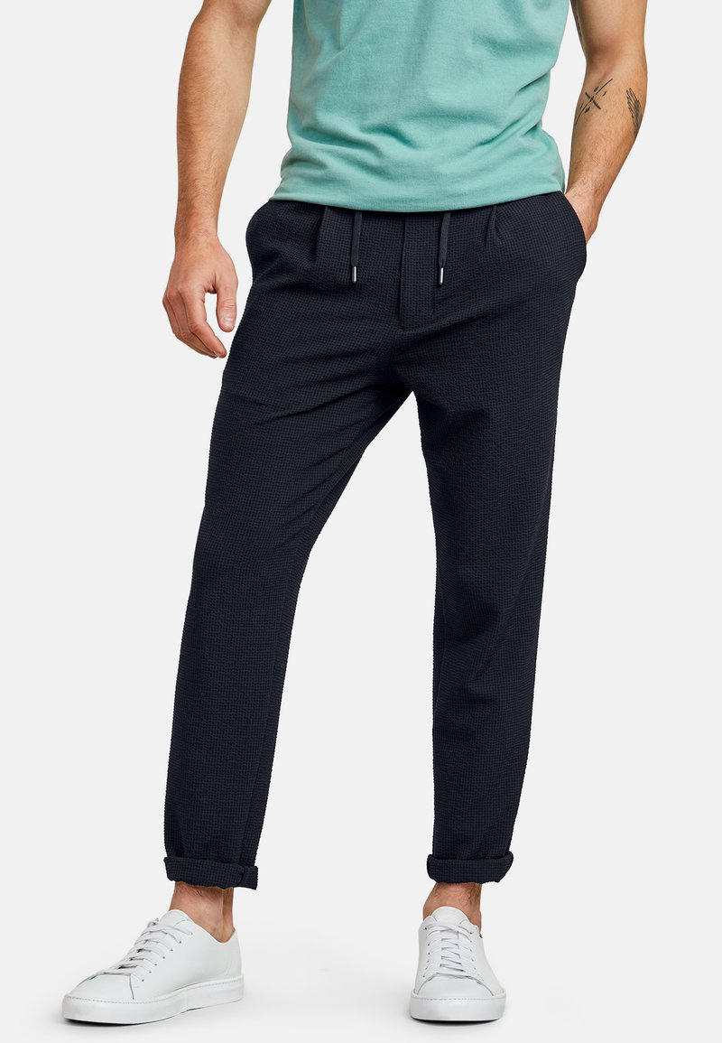 NEW IN TOWN - Trousers - navy
