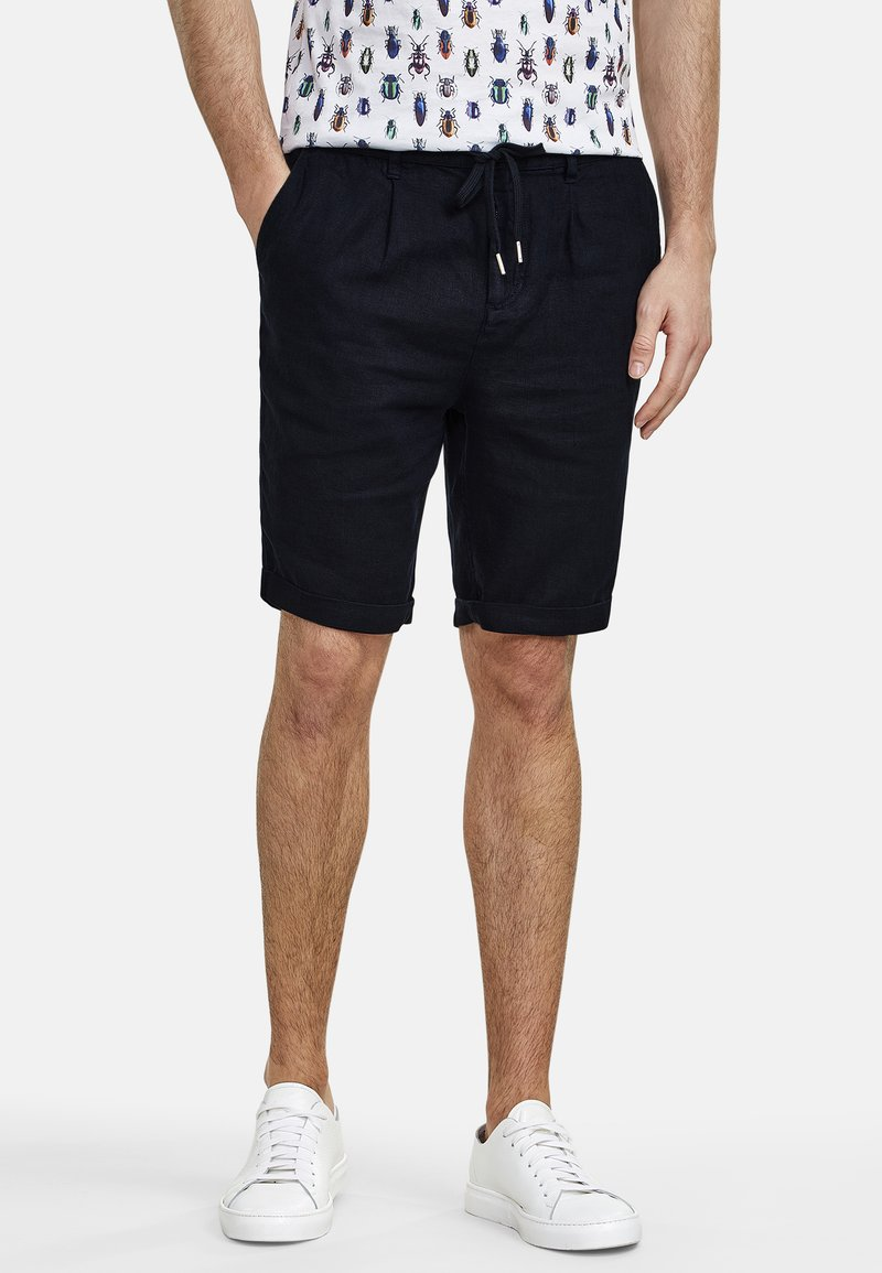 NEW IN TOWN - DAVE - Shorts - navy