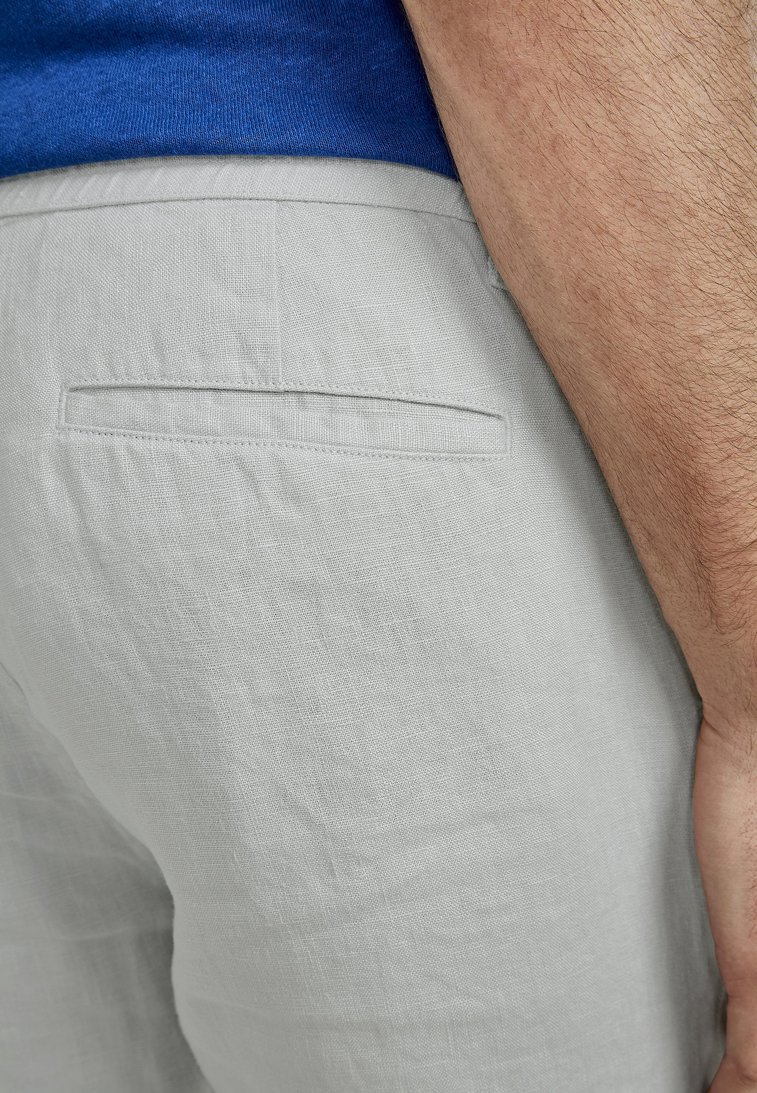 NEW IN TOWN DAVE - Shorts - misty grey