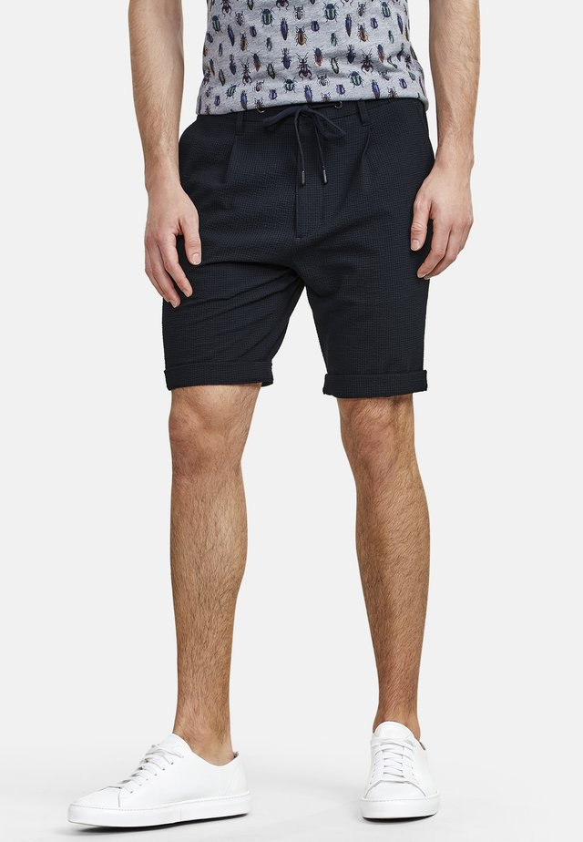 SEERSUCKERWARE - Shorts - navy