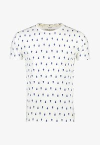 NEW IN TOWN - MIT INSEKTENPRINT - Print T-shirt - broken white - 5