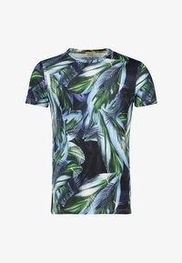 NEW IN TOWN - FLORAL - Print T-shirt - green - 5