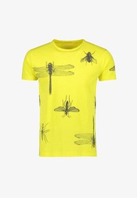 NEW IN TOWN - INSECTS - Print T-shirt - neon green - 5
