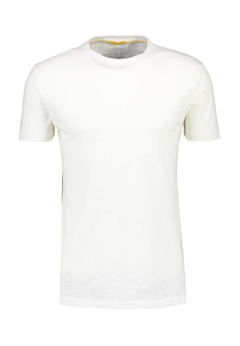 NEW IN TOWN - Basic T-shirt - broken white