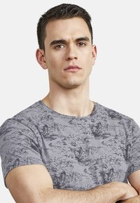 NEW IN TOWN - Print T-shirt - grey - 3