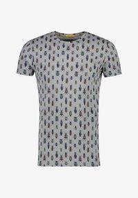 NEW IN TOWN - MIT ALLOVER-INSEKTENPRINT - Print T-shirt - grey - 4