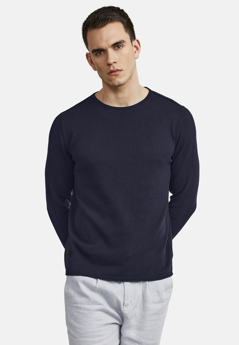 NEW IN TOWN - Long sleeved top - night blue