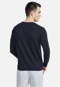 NEW IN TOWN - Long sleeved top - night blue - 2
