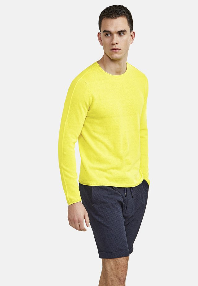 Long sleeved top - wild lime