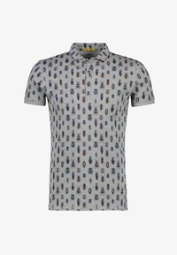 NEW IN TOWN - MIT ALLOVER-INSEKTENPRINT - Polo shirt - grey - 4
