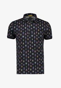 NEW IN TOWN - MIT ALLOVER-INSEKTENPRINT - Polo shirt - night blue - 5