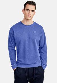 NEW IN TOWN - LONGSLEEVE - Sweatshirt - blue - 0